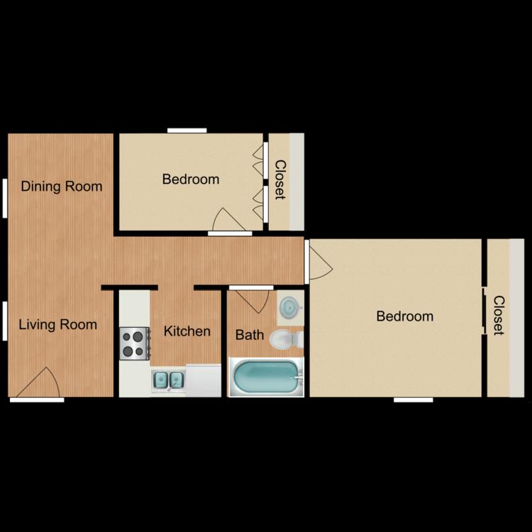 Lofty Asset Management-rental-apartment-communities-highlander-2B1B_559389