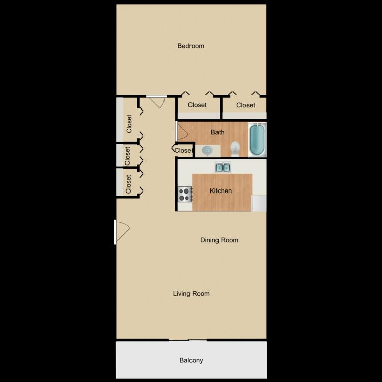 Lofty Asset Management-rental-apartment-communities-silversmith creek-1B1B